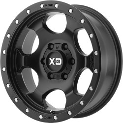 LLANTAS ARO 17X9 5X127 XD SERIES XD-131 OFF SET -12 SATIN BLACK